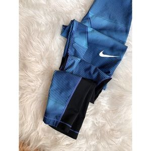 NIKE • nike pro full length print leggings